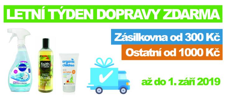 BioDrogerie.cz - Týden dopravy zdarma