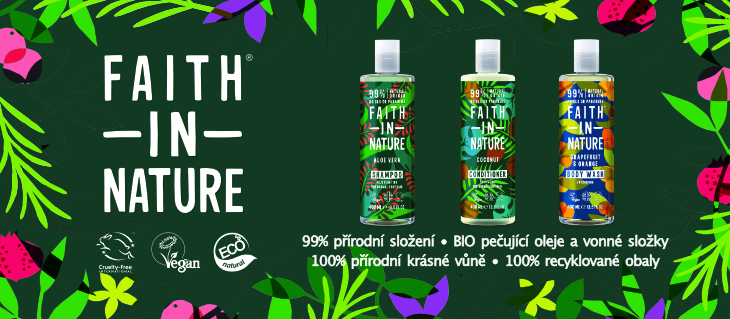 BioDrogerie.cz - Faith in Nature obecna