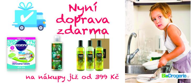 BioDrogerie.cz - Doprava zdarma od 399,-