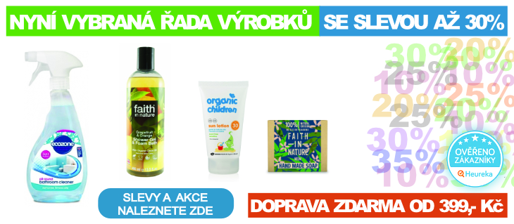 BioDrogerie.cz - Slevy a akce