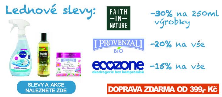 BioDrogerie.cz - Lednové slevy