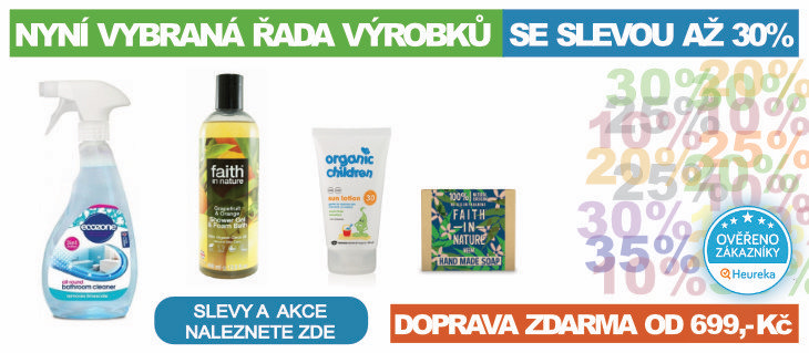 BioDrogerie.cz - Slevy s dopravou zdarma od 699,-