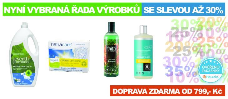 BioDrogerie.cz - slevy 2017
