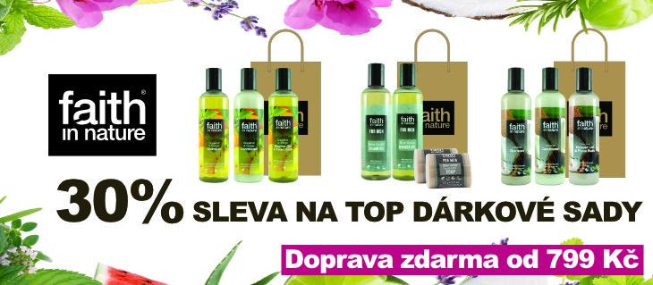 BioDrogerie.cz - Dárkové sady Faith in Nature