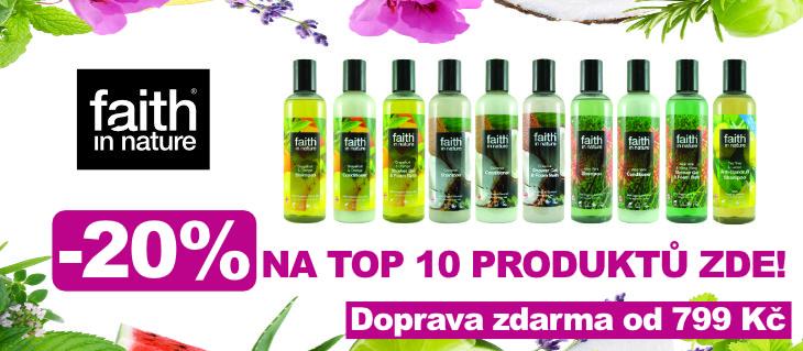 BioDrogerie.cz - Top 10 SLEVY