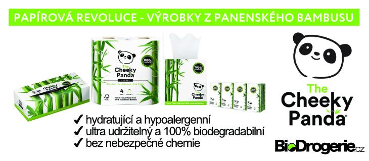 BioDrogerie.cz - The Cheeky Panda paper z bambusu